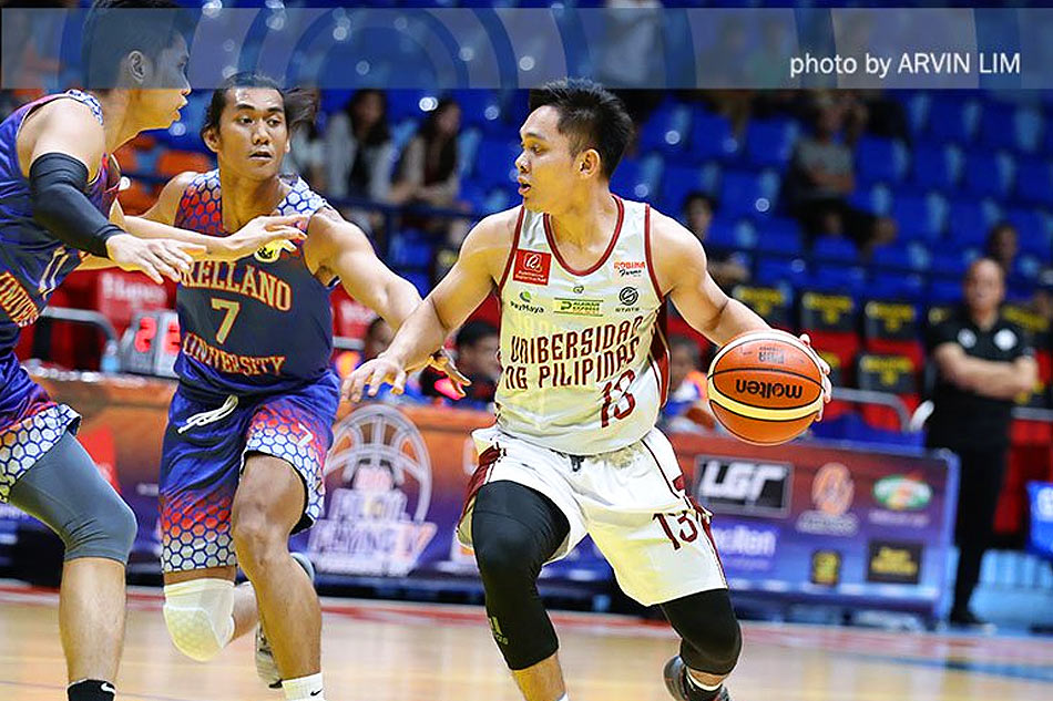 30740390997 Jun Manzo returned just in time to right the ship for UP in the 2019 Filoil  Preseason. Arvin Lim, ABS-CBN Sports