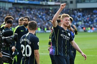 Football: Manchester City bounces back against Brighton to win Premier League title