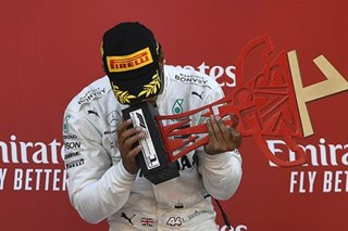 F1: Hamilton back on top with victory in Spain