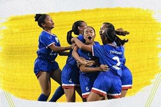 Football: Pinays reach semifinals of ASEAN under-15 tournament