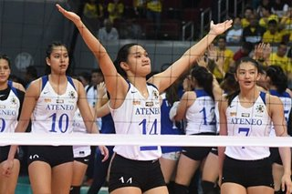 UAAP: Lady Eagles know how to tune out bigger UST crowd