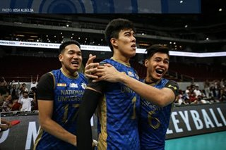 UAAP: Bagunas made sure he leaves NU as a champion