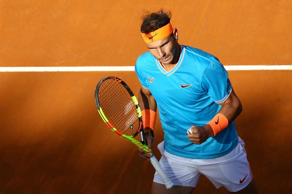 Tennis: Nadal beats Djokovic to win ninth Rome title