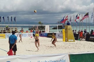 Philippines beats Japan, enters Round of 12 in Beach Volleyball World Tour in Boracay