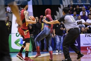 PBA: No complaints from SMB's Tubid after sanctions in 'Spider-Man' incident