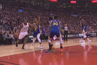 NBA Finals: Raptors panalo kontra Warriors sa kanilang finals debut