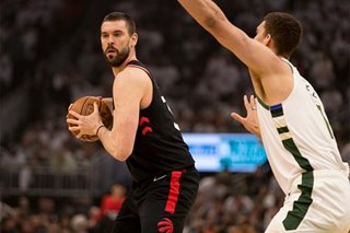 NBA: Marc Gasol to stay with Raptors - reports