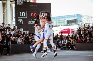 WATCH: Clutch Pinays pull off thrilling wins to march on in 3x3 U18 World Cup