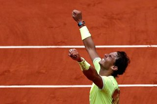 Tennis: Nadal beats Thiem to win record-stretching 12th French Open title