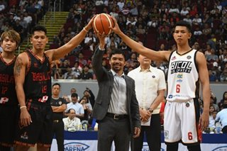 As MPBL kicks off 3rd season, Pacquiao emphasizes fight vs game-fixing