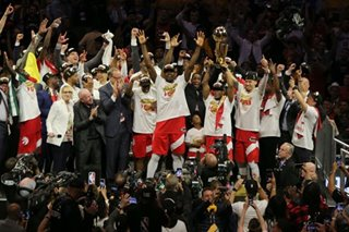 Toronto Raptors crowned NBA champions