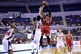 PBA: Ginebra fans playoff bid by beating Alaska