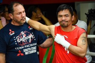 Boxing: Pacquiao to fight again if COVID-19 fades by July