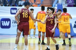 NCAA: Charcos to the rescue as Perpetual slips past Arellano