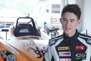 16 anyos na British-Pinoy, gumagawa ng pangalan sa motor sports