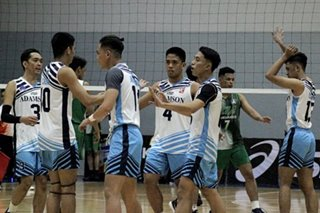 Volleyball: Sta. Elena crushes Mapua, Adamson grabs 2nd win