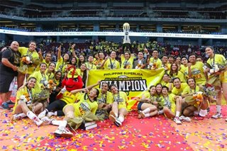 Superliga: F2 Logistics sweeps Cignal to claim AFC throne