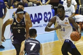 UAAP: Ateneo opens title defense with rout of Adamson