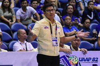 Aldin Ayo banned indefinitely from the UAAP