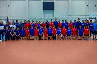 PH women's volleyball team wraps up training camp in Bangkok