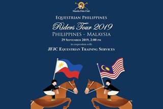 New Pinoy equestrians to face Malaysian team