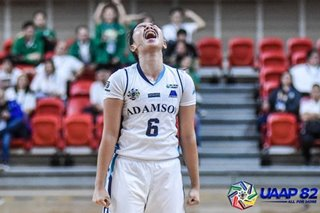 UAAP: Dampios fuels Adamson's fightback against UST