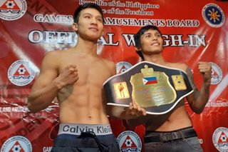 Amid spotless record, rising pro boxer from Ifugao wants tougher challengers