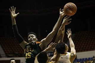 UAAP: After breakout game, FEU's Tchuente neutralized by UST