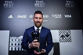 Football: Messi, Rapinoe win FIFA Player of the Year awards