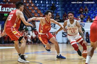 NCAA: San Beda pulls away from San Sebastian for 13th straight win