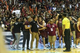 'UP FIGHT!' Fighting Maroons staunch patron rallies support after loss to Blue Eagles