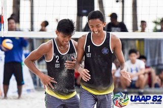 UAAP: UST through to men's beach volleyball finals
