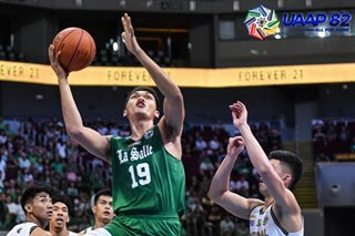 UAAP: La Salle's Baltazar is Player of the Week after 25-25 game
