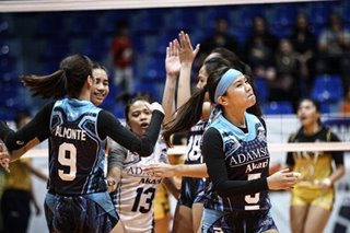 PVL: Lady Falcons draw first blood, move closer to title