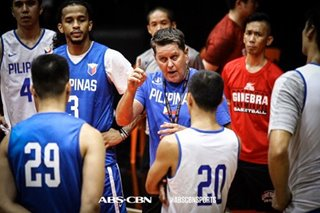SEA Games: Cone preaches 'same-page mentality' in short Gilas practices