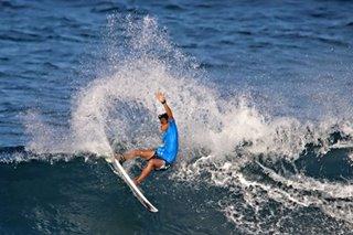 Tokong wins Siargao surfing tilt