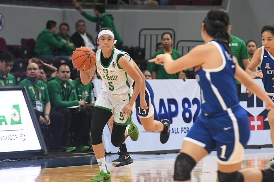 UAAP: La Salle deals Ateneo third straight loss in women's hoops