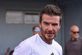 'Put gadgets away': David Beckham shares health tips in wellness summit