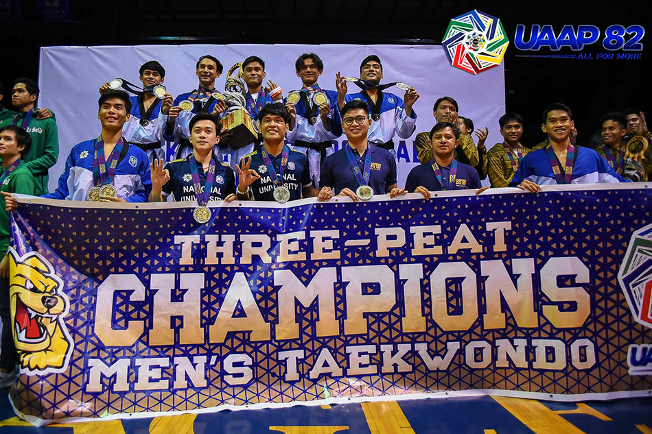 UAAP 82: NU sweeps through men's, women's taekwondo titles