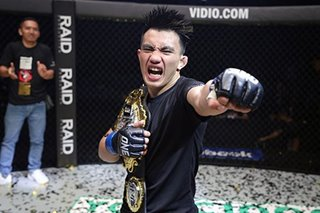 MMA: Pacio eyes successful title defense to inspire Team Lakay