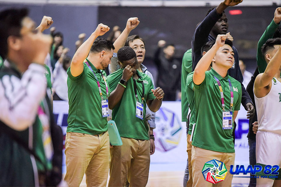 UAAP 82: Coaching consultant Byrd overcome with emotion after key DLSU win