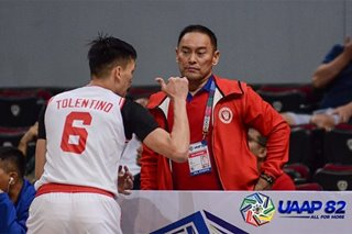 UAAP condoles with UE after Tan's passing