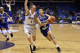 Gilas women's team bows to New Zealand in pre-Olympic qualifying tilt