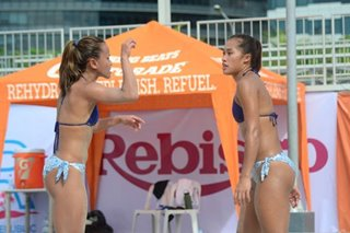 Beach volleyball: Rondina, Pons off to winning start in international open tilt