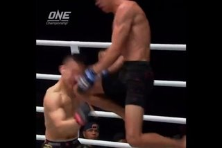 WATCH: Miado KOs Chinese foe with flying knee