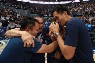 NCAA 95: Letran coach Bonnie Tan credits 'legends' for help in title run