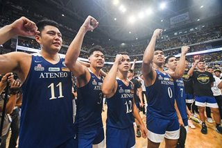 IN PHOTOS: Blue Eagles, a picture of perfection