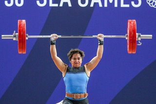 Hidilyn Diaz qualifies for Olympics, but misses podium at Asian Weightlifting tilt