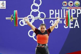 SEA Games: Macrohon delivers another weightlifting gold