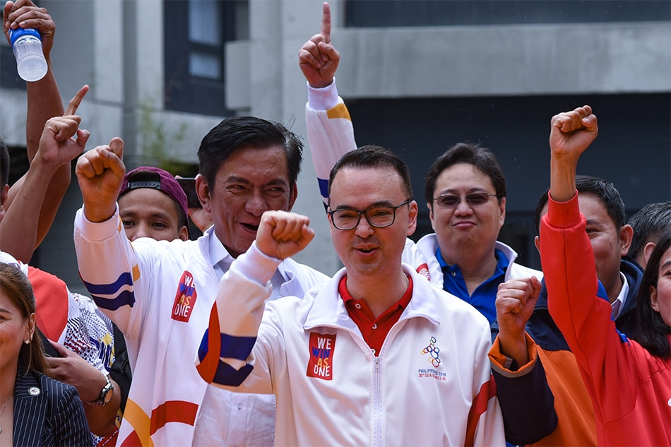 SEA Games Investigation Covers PHISGOC Head Alan Peter Cayetano